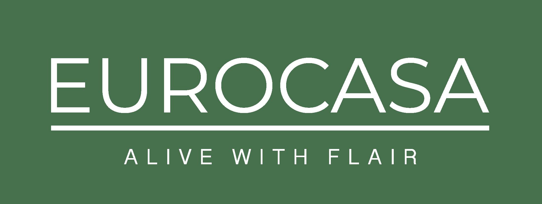 Eurocasa Logo Full White