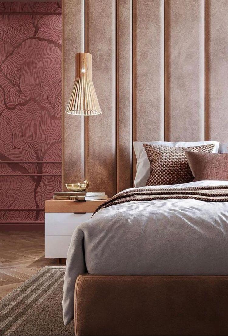 Bedroom Headboards Decor Pink